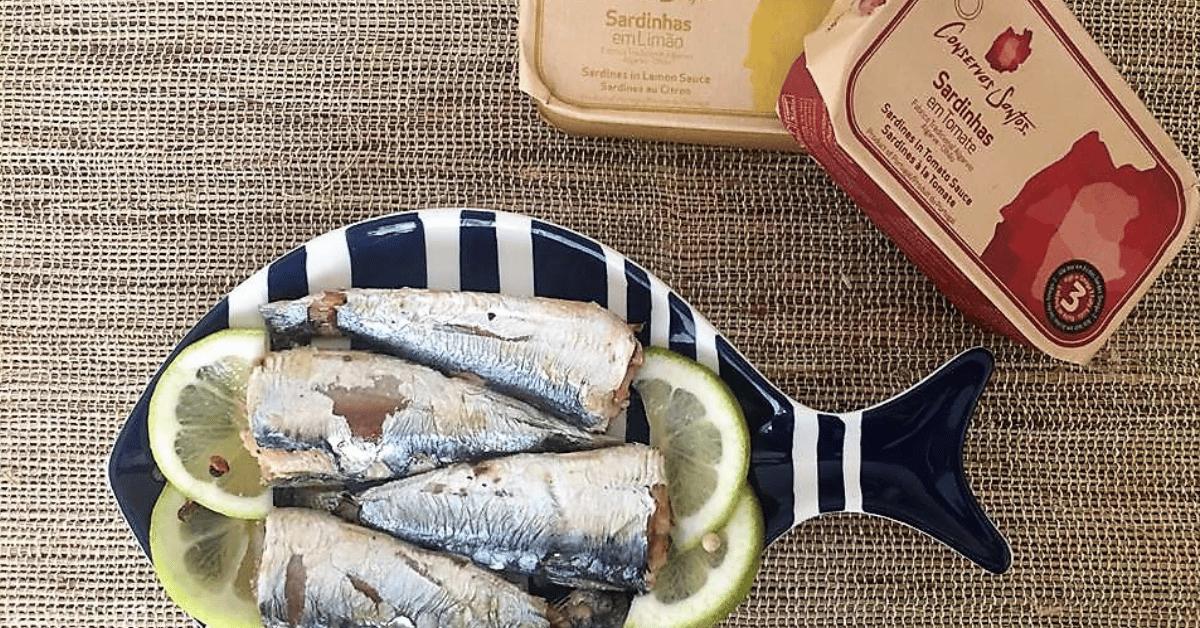 sardine portugaise à l'huile d'olive