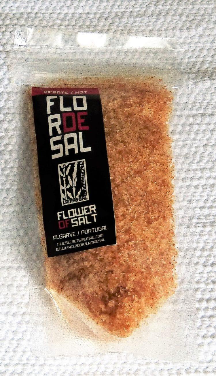 Fleur de sel aux piments