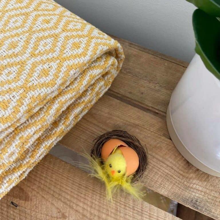 plaid coton losange