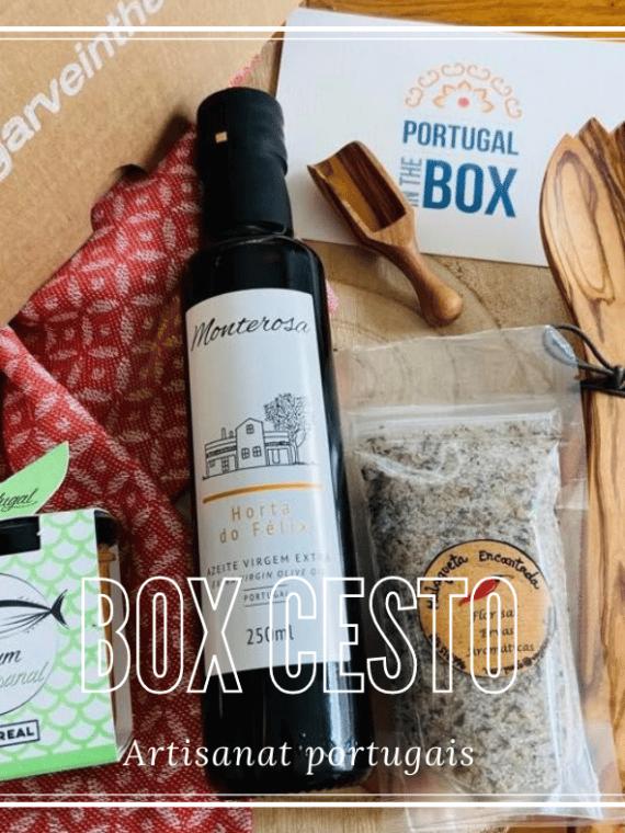 Box Cesto Coffret Artisanat portugais