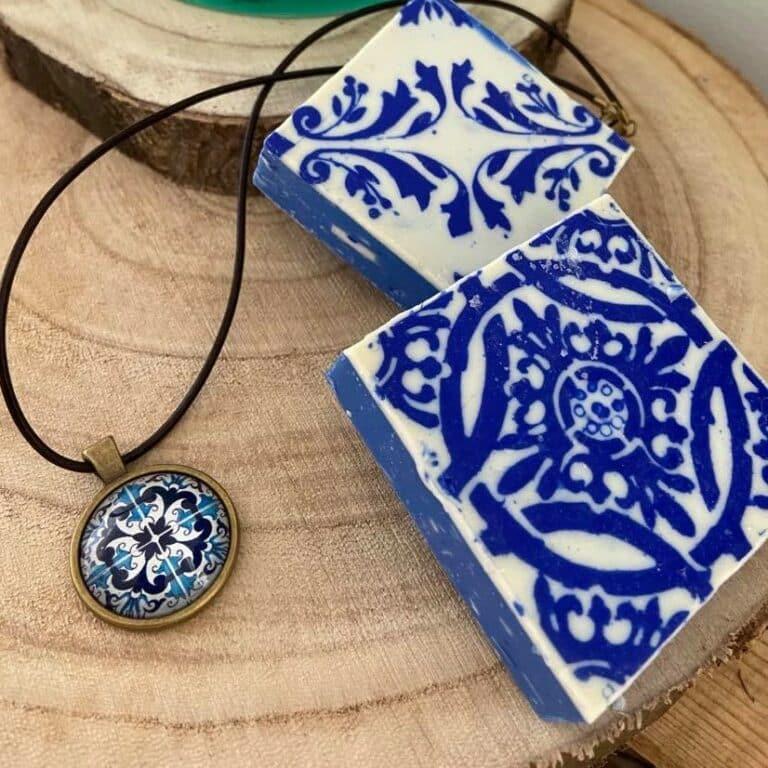 Collier azuléjos portugais